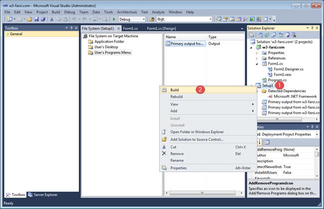 Create-Setup-in-Visual-Studio-20